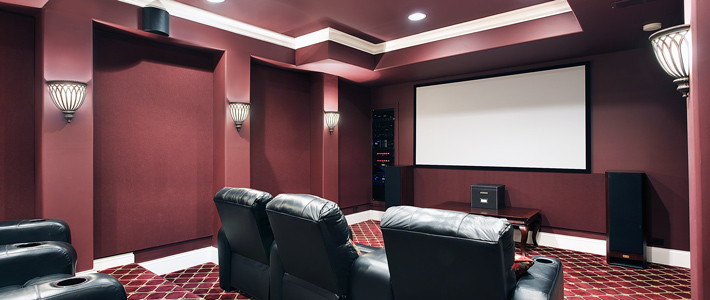 Charmant Media Room Remodeling