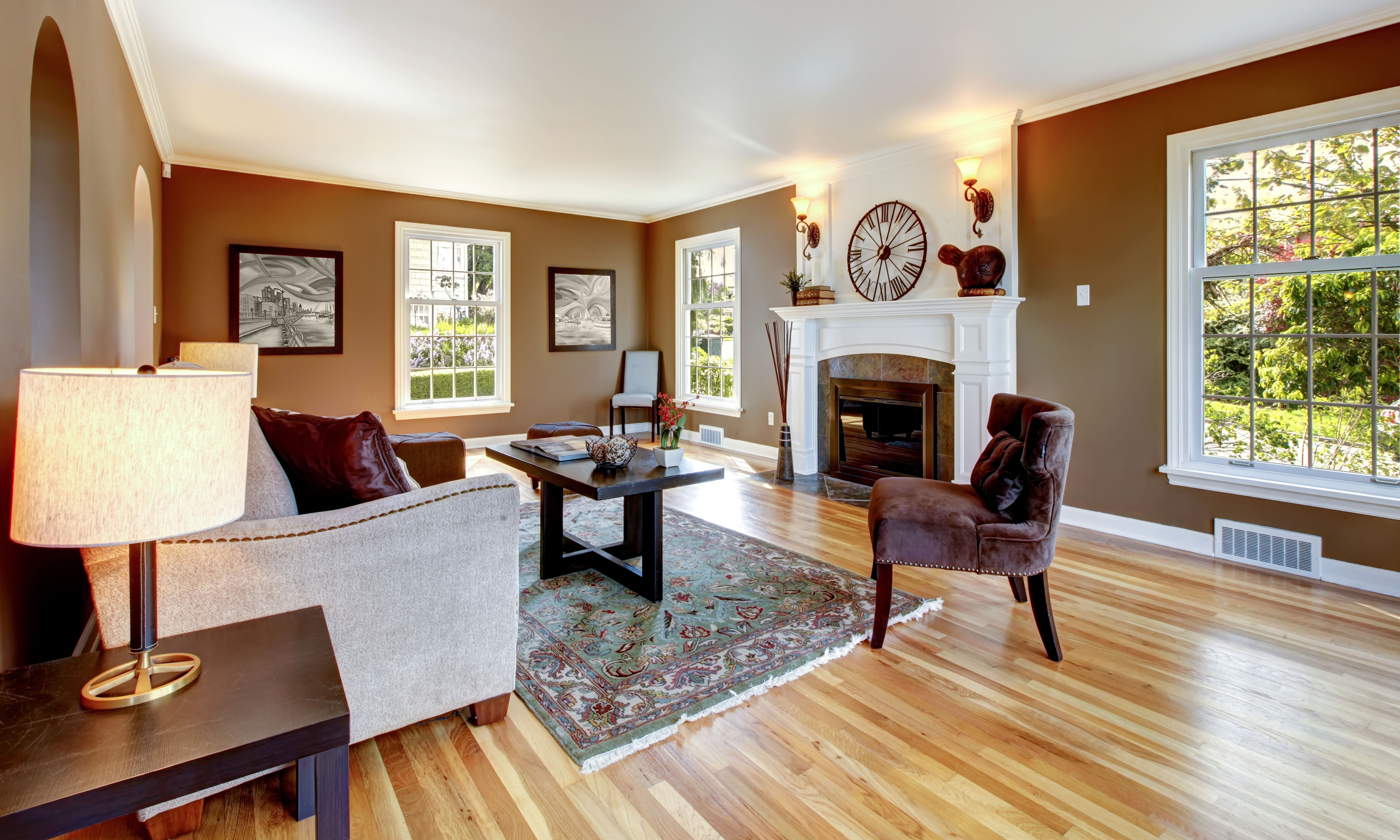 Living Room Remodeling Project. Remodeling Contractors